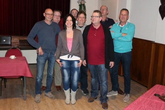 Op de foto ontbreken Egge Groenwold en Chantal Schinkels