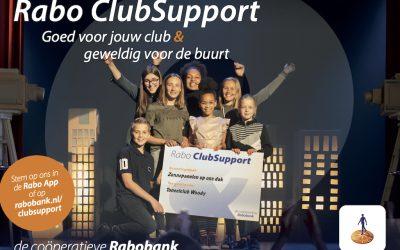 Stem op ons bij RABO Clubsupport